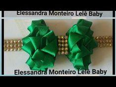 DIY:Laço de Bebê!! Elessandra Monteiro Lelê Baby - YouTube