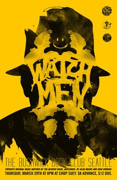 WatchMen, the details in this image!