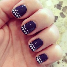 Cool dots nail art by milly