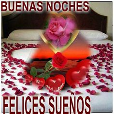 Deseos De Buenas Noches Amor Para Celular You And I, Watermelon, Fruit, Vegetables, Food, Facebook, Good Night Love You, Good Night Messages, Images For Good Night