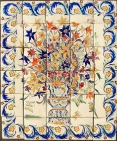 italian kitchen 36 X 30 tile mural - Google Search