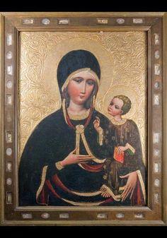 Chórkowa - Dominikanie, Kraków Madonna And Child, Blessed Mother, Our Lady, Ikon, Catholic, Mona Lisa, Images, Mary, Artwork