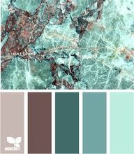 Earthed Teal colour palette by Design Seeds Colour Schemes, Color Combos, Colour Palettes, Earth Colour Palette, Interior Color Schemes, Color Palate, Design Seeds, Colour Board, My New Room