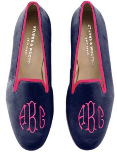 Monogram Stubbs slippers. Only 600 dollars. Worth it? Mmm hmm. To wear on my yacht!
