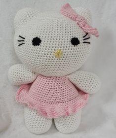 Annie, Hello Kitty, Crochet, Fictional Characters, Art, Art Background, Chrochet, Kunst, Crocheting