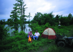 A Family Enjoys The Great Outdoors Photo By Robert G