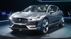 New Jaguar I-Pace is a Tesla-baiting electric SUV Jaguar Suv, New Jaguar, Top Gear, Electric Cars, Amazing Cars, Motorbikes, Luxury Cars, Porsche, Pure Products