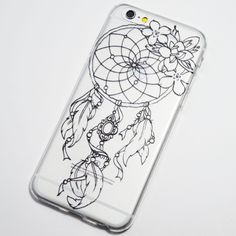 Black Henna Dreamcatcher iPhone 6 / iPhone 6S Soft Case