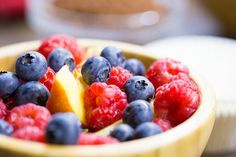 Bowl Full of Healthy Fruits Free Stock Photo