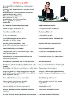 telefongespräch German Grammar, German Language, Dental Jokes, German English, Learn German, I School, Education, Learning, Painted Canvas