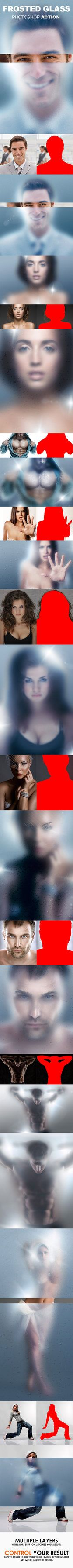 DOWNLOAD:goo.gl/g9npT1 Create a frosted glass or a blurry mirror effect with this action. The action works on an area you define by brushing (the subject). It creates multiple layers with smart fil...