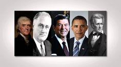 History in Five celebrates Presidents' Day