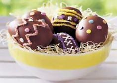 Sunny Chocolate Easter Eggs Recipe - My grandmother made these for me as a kid!