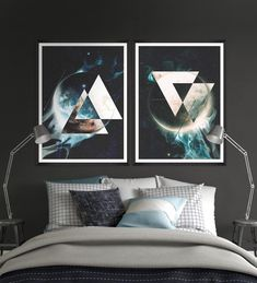 Tablou Framed Art Planet In Space II #homedecor #interiordesign #inspiration #paints #bedroom #bedroomdecor Framed Art, Planets, Bedroom Decor, Glamour, Interior Design, Space, Abstract, Floral, Poster