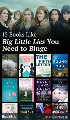 We've curated the best books like 'Big Little Lies' for readers who can't get enough of Moriarty's fabulous female-centered tale. Coming in at 350 pages or less, these binge-worthy novels are perfect weekend reading! Book Club Reads, Book Club Books, Book Nerd, Book Lists, Book Club List, Best Books To Read, Good Books, My Books, Reading Books