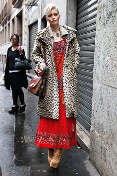 Street Style Milan Fall 2011