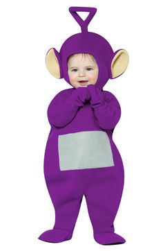 Foster's Fun Shop - Teletubbies Tinky Winky Infant Toddler Costume, $29.99 (http://www.fostersfunshop.com/teletubbies-tinky-winky-infant-toddler-costume/)