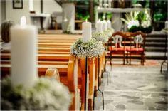 Dekoracje kościoła i sali weselnej