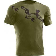 Under Armour Men's UA Deer Tracks T-Shirt - Green - Mills Fleet Farm