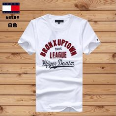 To*mmy Hil Bron x Uptown 1985 League Denim Men T-shirt