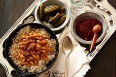 Kuru fasuley pilav cooked up by http://www.ilkeskitchen.com/2013/01/kurufasulyepilav/