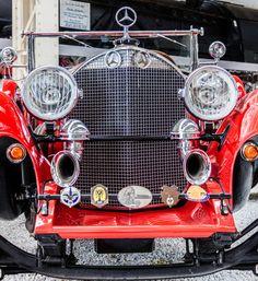 Mercedes Benz 630 Kompressor - 6240 cm³ -  6 Zylinder -  74 kW - 100 PS, bzw. 103 kW -140 PS mit zugeschaltetem Kompressor Bj. 1928 Mercedes Benz, Antique Cars, Classic Cars, Antiques, Vehicles, Autos, Vintage Cars, Antiquities, Antique