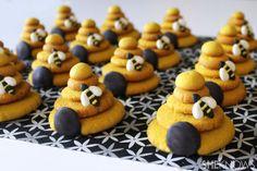 Tutorial:  Beehive lemon sugar cookies