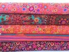 Bundle of Kaffe Fassett Fabrics 5 fabrics by CurlyGirlFabric