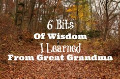 #ad Six bits of wisdom I learned from great grandma on love, life and being a #myunstoppablemom
