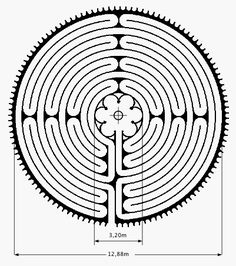 Image result for labyrinth in chartres cathedral
