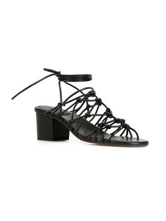 Chloé knotted strappy sandals
