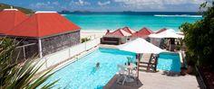 Hotel Tom Beach à Saint Jean - St Barthélemy