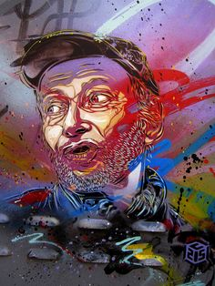 C215 - Roma by C215, via Flickr