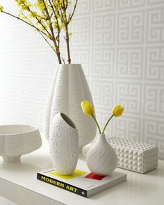 """Charade"" Porcelain Collection by Jonathan Adler at Horchow."