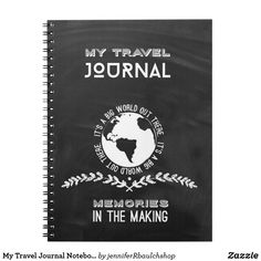My Travel Journal Notebook