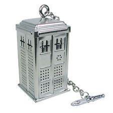 DOCTOR WHO TARDIS TEA INFUSER DR INFUSORE TE DOTTOR PHONE POLICE BOX CABINA TV 1