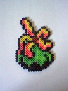 The Legend of Zelda ropa  perler bead creation....melted beads with magnet on back. $6.50, via Etsy.