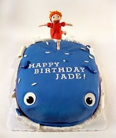 Saoirse's birthday request -- but she wants a cake that looks like Ponyo