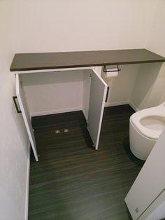 トイレ/収納/三世帯が和む畳リビング家 Corner Desk, Cabinet, Storage, Furniture, Home Decor, Corner Table, Clothes Stand, Purse Storage, Decoration Home