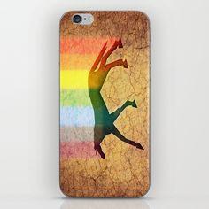 Unicorn Hole iPhone & iPod Skin