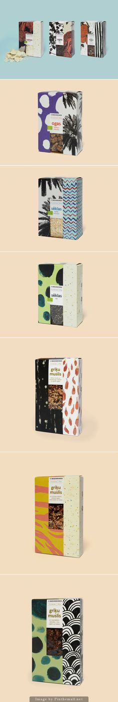 New Packaging for The Beginnings by Asketic - BP&O Cereal Packaging, Spices Packaging, Food Packaging Design, Coffee Packaging, Bottle Packaging, Print Packaging, Graphic Design Print, Graphic Design Branding, Label Design