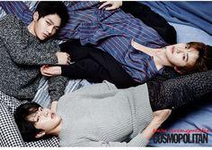 Infinite F - Cosmopolitan Magazine January Issue '15