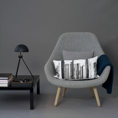 Coco Lapine: Louise Roe design essentials Love this chair! Home Furniture, Modern Furniture, Furniture Design, Womb Chair, Hay Chair, Scandinavia Design, Grey Interior Design, Interior Inspiration, Sweet Home