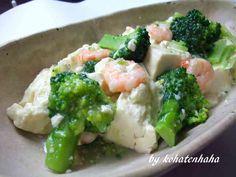 えび ブロッコリー のうま塩 豆腐