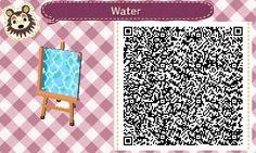 Wasserdesigns - Animal Crossing New Leaf Simple waterway w/ small bridge #1<----