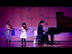 Bach Double Concerto by Manta and Sunny - YouTube