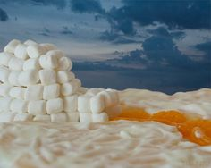 Marshmallow Igloo Photograph, Fine Art Print, 8x10 or 11x14, Kitchen Decor, Food Photography, Landscape on Etsy, $25.00