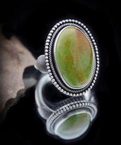 High Grade Emerald Valley Turquoise   Size 8.5-8.75 – Jenna Koo Jewelry