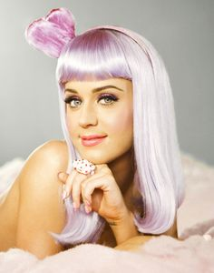Katy Perry lavender hair