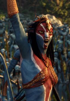 Ikran Clan Leader. Gathering the clans for battle against the sky people